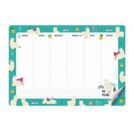 Legami Smart Notes – Paper Mousepad & Notepad – Llama