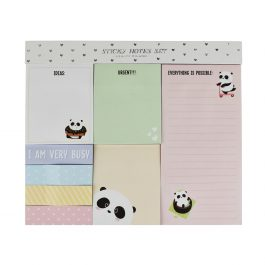 Legami Sticky Note Set – Panda