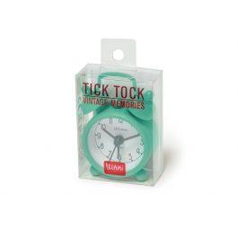 Legami Mini Tick Tock Alarm Clock – Vintage Green
