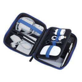 Troika Blue Travel Case