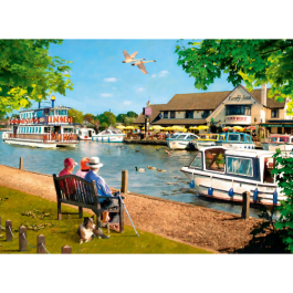 Ravensburger Picturesque Norfolk 2 x 500 Piece Puzzle