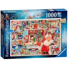 Ravensburger Christmas Is Coming! 1000 Piece Puzzle