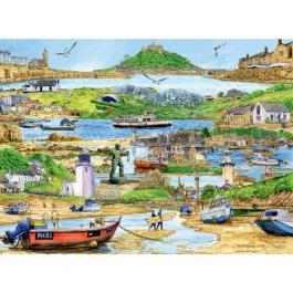 Ravensburger Escape To Cornwall 500 Piece Puzzle