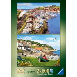 Ravensburger Picturesque Yorkshire 2 x 500 Piece Puzzle