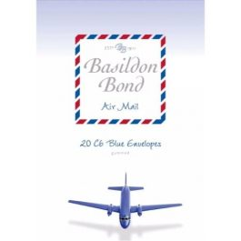 Basildon Bond C6 Airmail Envelopes Pk 20