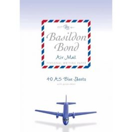 Basildon Bond A5 Airmail Writing Pad 40 Sheets