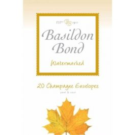 Basildon Bond Peel & Seal Envelopes Cream 90 gsm Pk 20