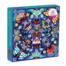 Kaleido Butterfiles 500 Piece Puzzle