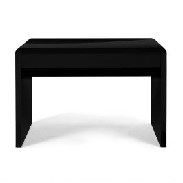 The Nordic Desk Black High Gloss