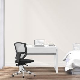 The Nordic Desk White High Gloss