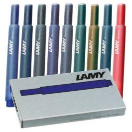 Lamy T10 Fountain Pen Cartridges Pk 5