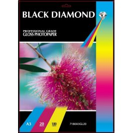 Black Diamond A3 Gloss 180 gsm Pk 20