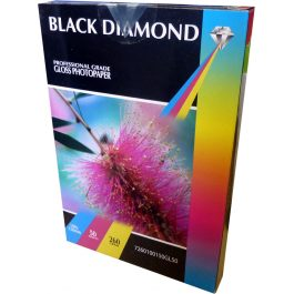Black Diamond 100 x 150 mm Gloss 260 gsm Pk 50