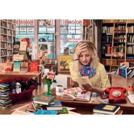 Ravensburger The Bemused Bookseller 1000 Piece Puzzle