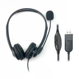 Hiho Headset 218B Binaural USB-A Stereo With Microphone
