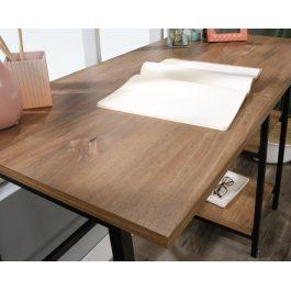 Teknik Industrial Style Bench Desk Sindoori Mango