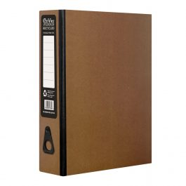 Pukka Recycled Foolscap Box Files Kraft