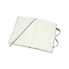Moleskine Notebook Large Hard Cover – Double Layout – Ruled & Plain