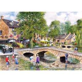 Gibsons Jigsaw Bourton on the Water 1000 Piece Puzzle