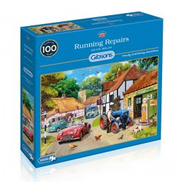 Gibsons Jigsaw Running Repairs 1000 Piece Puzzle