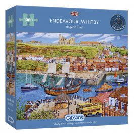 Gibsons Jigsaw Endeavour Whitby 1000 Piece Puzzle