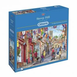 Gibsons Jigsaw Steep Hill 1000 Piece Puzzle