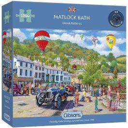 Gibsons Jigsaw Matlock Bath 1000 Piece Puzzle