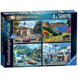 Ravensburger Look North! 4 x 500 Piece Puzzle
