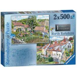 Ravensburger Cosy Cottages North Yorkshire 2 x 500 Piece Puzzle