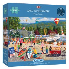 Gibsons Jigsaw Lake Windermere 1000 Piece Puzzle