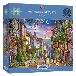 Gibsons Jigsaw Mermaid Street Rye 1000 Piece Puzzle