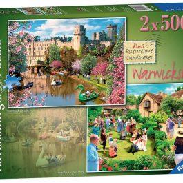 Ravensburger Picturesque Warwickshire 2 x 500 Piece Puzzle