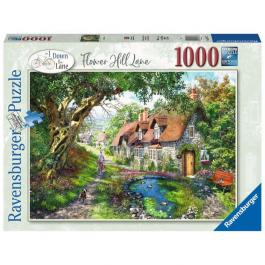 Ravensburger Flower Hill Lane 1000 Piece Puzzle