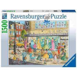 Ravensburger Sidewalk Fashion 1500 Piece Puzzle