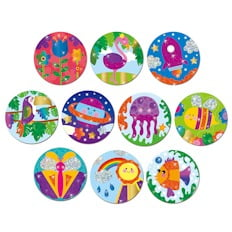 Galt Activity Pack Foil Badges