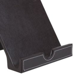 Osco Faux Leather Tablet Holder Brown