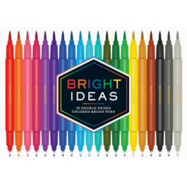 Bright Ideas Double-Ended Brush Pens Assorted Colours Pk 20