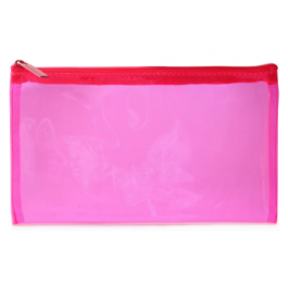 Tinted Pencil Case Pink