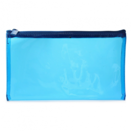 Tinted Pencil Case Blue