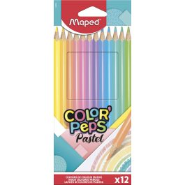 Maped Color Peps Pastel Colouring Pencils Pk 12