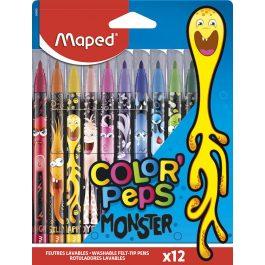 Maped Color Peps Monster Felt Tips Pk 12