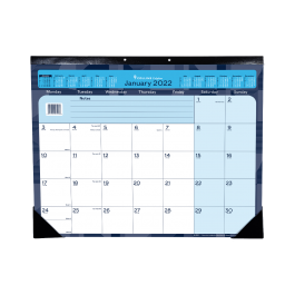 Collins 2022 Colplan A2 Monthly Desk Pad