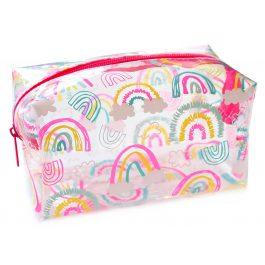Rainbows Clear Pencil Case