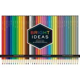 Bright Ideas Tin of Deluxe Coloured Pencils Pk 36