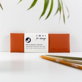 Vent For Change Make a Mark Pen Pouch – Orange
