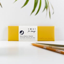 Vent For Change Make a Mark Pen Pouch – Yellow