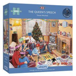 Gibsons Jigsaw The Queen's Speech 1000 Piece Puzzle