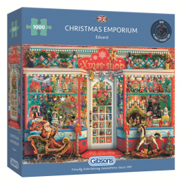 Gibsons Jigsaw Christmas Emporium 1000 Piece Puzzle