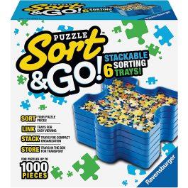 Ravensburger Sort & Go Puzzle Sorting Trays